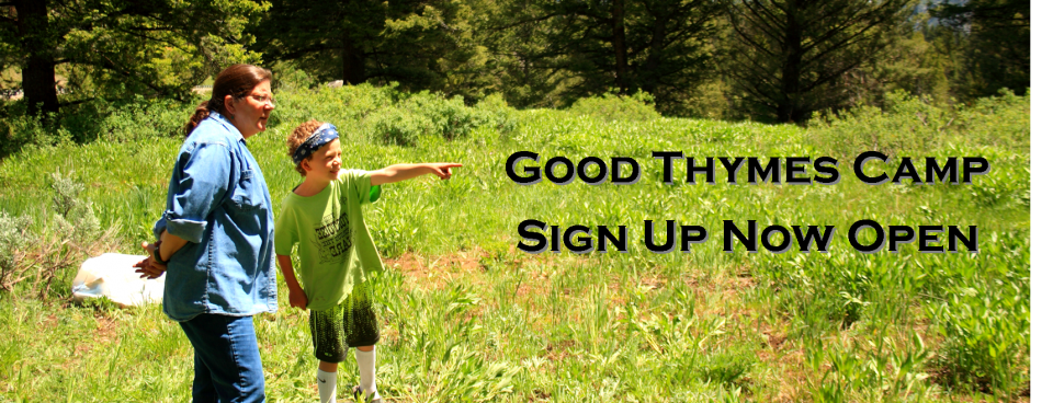 Register for the 2016 Good Thymes Camp