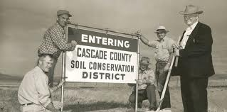 The early years with the Cascade County Conservation District
